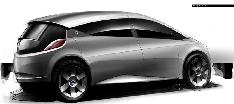 Jak vidí Lancia svoji budoucnost? Návrhy přímo z designcentra automobilky!: - fotka 12