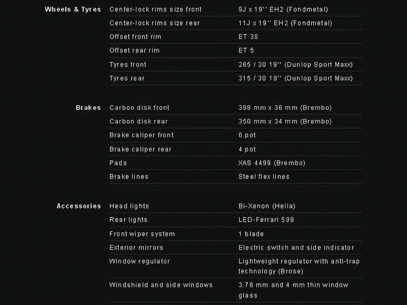 New Stratos: kompletní technická data (+ video): - fotka 34