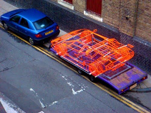 Lamborghini Countach z ocelových trubiček: Benedict Radcliffe opět na scéně: - fotka 4