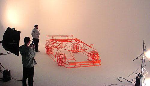 Lamborghini Countach z ocelových trubiček: Benedict Radcliffe opět na scéně: - fotka 5