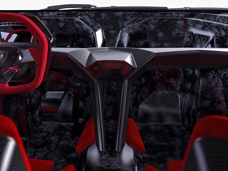 Paříž 2010: Lamborghini Sesto Elemento: - fotka 4