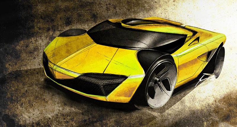 Lamborghini Minotauro: studie supersportu pro rok 2020: - fotka 20