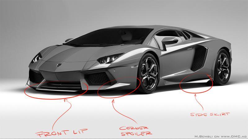 DMC Gargiulo: Karbon pro Aventador: - fotka 1