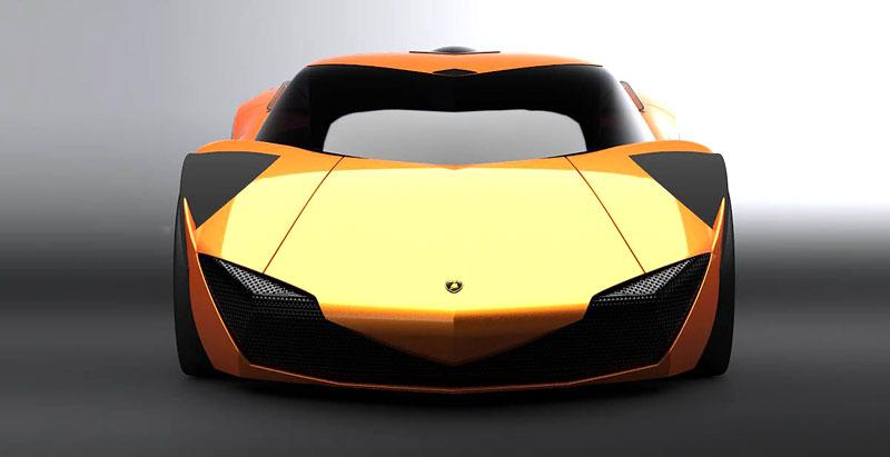 Lamborghini Minotauro: studie supersportu pro rok 2020: - fotka 22