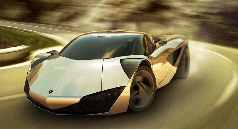 Lamborghini Minotauro: studie supersportu pro rok 2020: - fotka 32