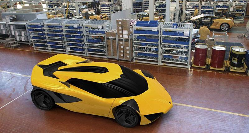Lamborghini Minotauro: studie supersportu pro rok 2020: - fotka 37