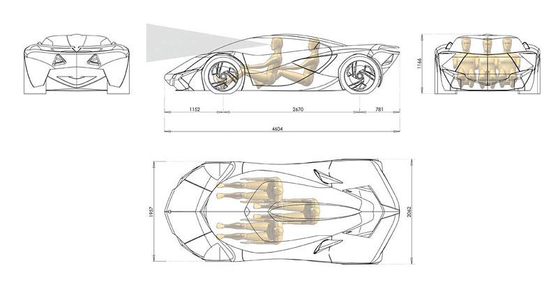 Lamborghini Minotauro: studie supersportu pro rok 2020: - fotka 41