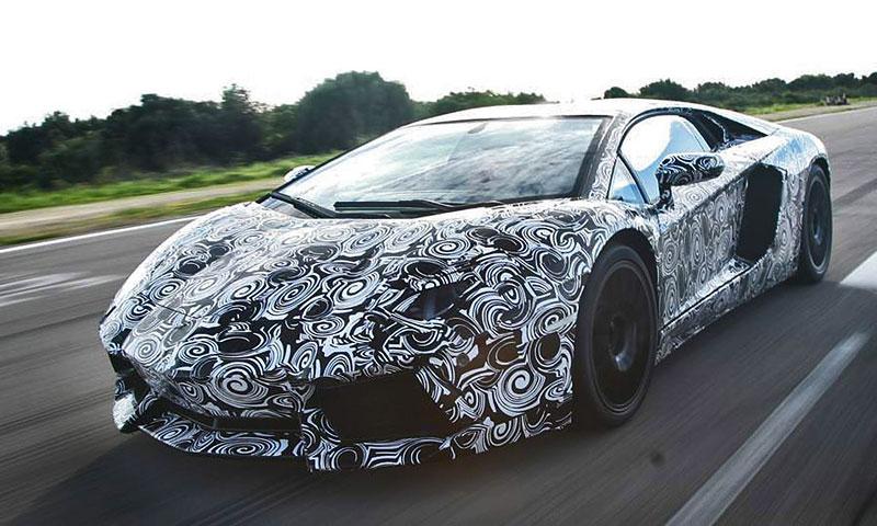 Lamborghini Aventador: první oficiální foto exteriéru: - fotka 12