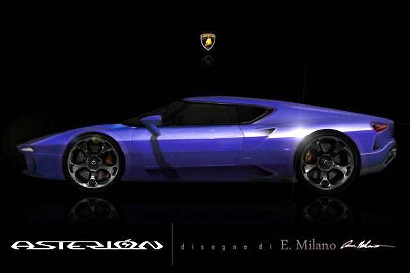 Lamborghini Asterión: Možná podoba vznikla z oficiální upoutávky: - fotka 1