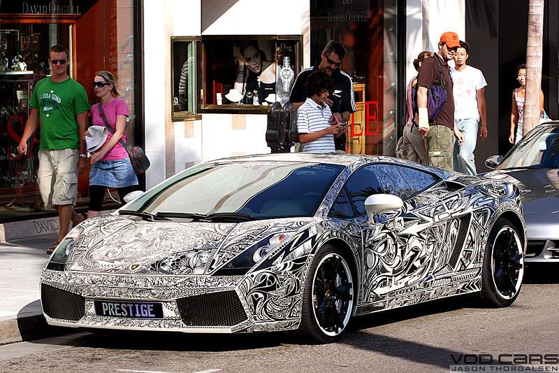 Lamborghini Gallardo s kérkou: - fotka 3