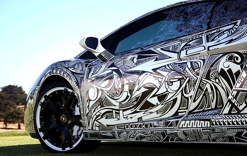 Lamborghini Gallardo s kérkou: - fotka 12