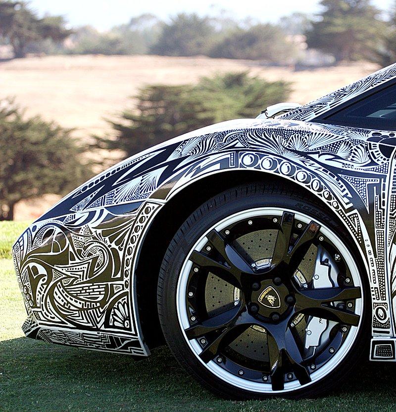 Lamborghini Gallardo s kérkou: - fotka 16