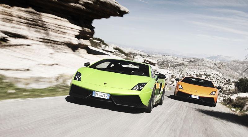 Lamborghini Gallardo LP 570-4 Superleggera: nové akční fotky: - fotka 5
