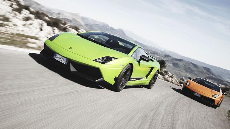 Lamborghini Gallardo LP 570-4 Superleggera: nové akční fotky: - fotka 11