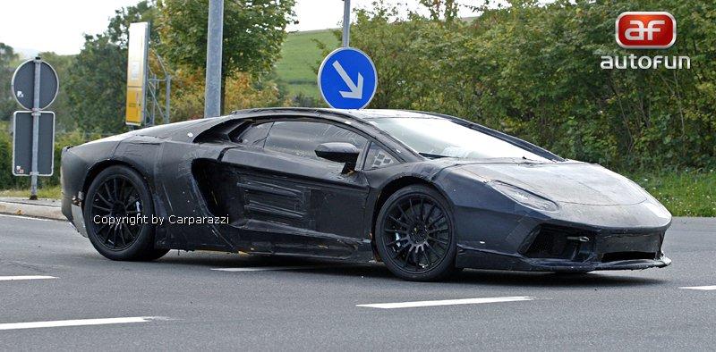 Lamborghini Aventador: unikla první fotografie!: - fotka 21