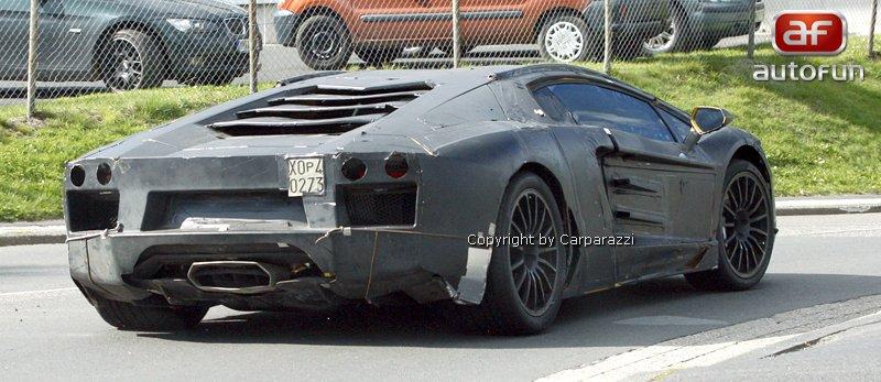 Lamborghini Aventador: unikla první fotografie!: - fotka 23