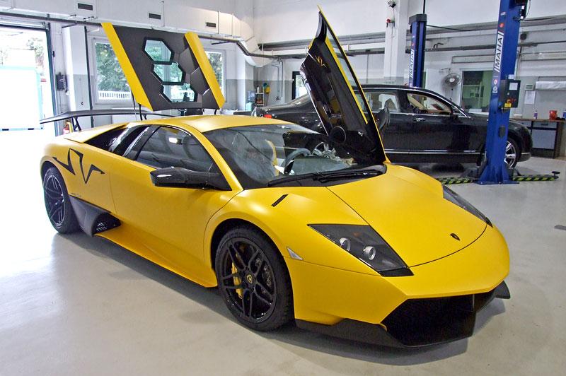 Lamborghini Murciélago LP670-4 SV: První kus dorazil do České republiky: - fotka 41