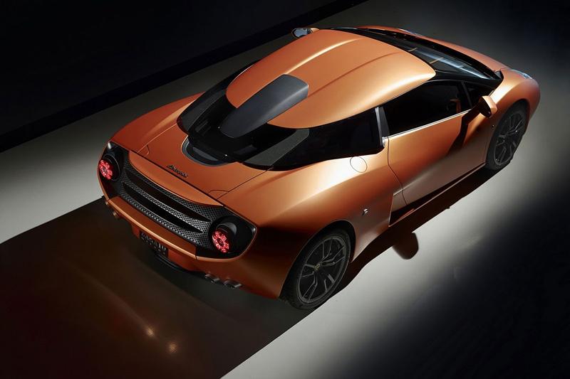 Lamborghini 5-95 Zagato: Unikátní dárek k 95. narozeninám: - fotka 3