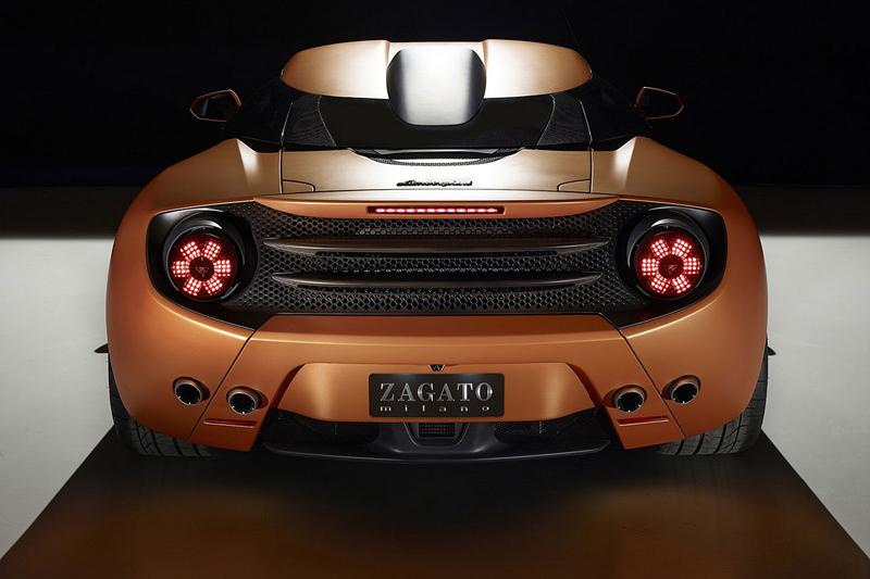 Lamborghini 5-95 Zagato: Unikátní dárek k 95. narozeninám: - fotka 4
