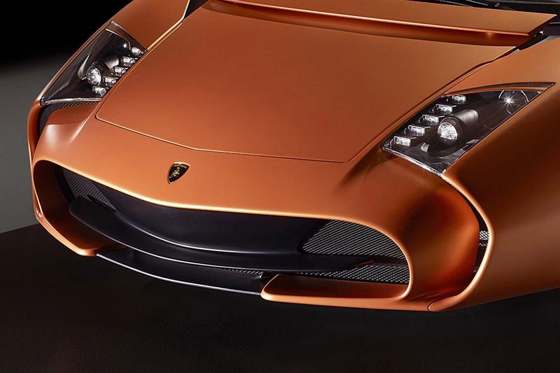 Lamborghini 5-95 Zagato: Unikátní dárek k 95. narozeninám: - fotka 5