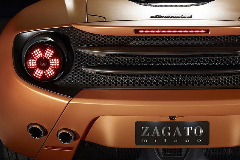 Lamborghini 5-95 Zagato: Unikátní dárek k 95. narozeninám: - fotka 6