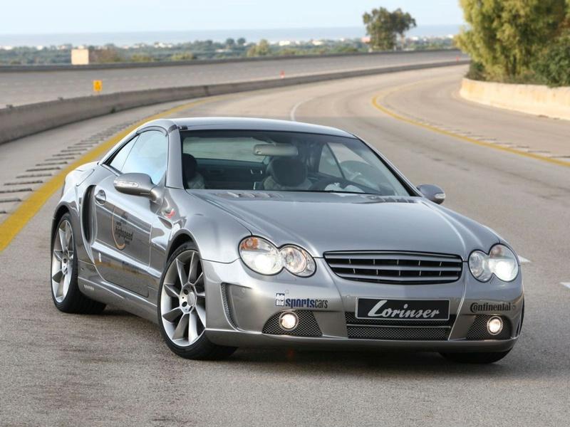 Lorinser Nardo3 Bi-Turbo: vyšlechtěný Mercedes SL: - fotka 1
