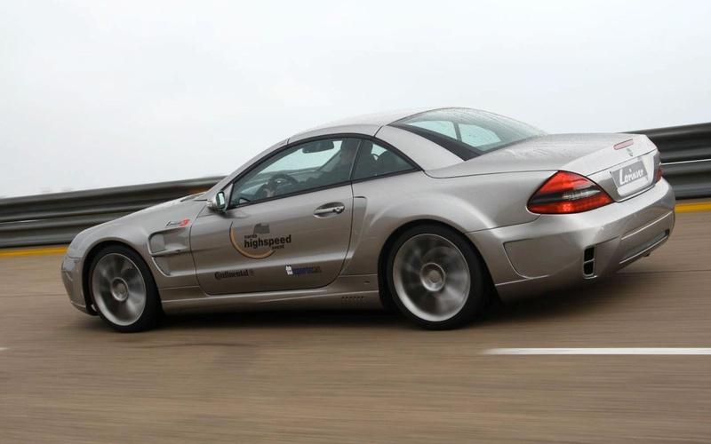 Lorinser Nardo3 Bi-Turbo: vyšlechtěný Mercedes SL: - fotka 2