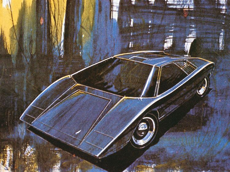 Pod Lupou: Lamborghini Countach – král supersportů: - fotka 20
