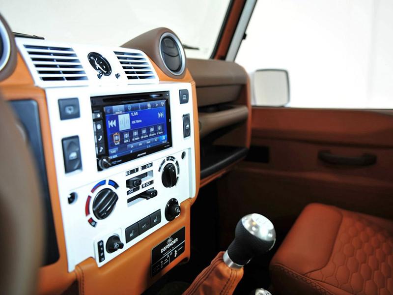 Startech Land Rover Defender: Tuning do lesa: - fotka 2