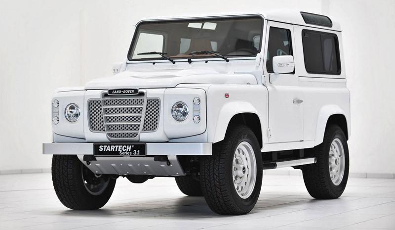 Startech Land Rover Defender: Tuning do lesa: - fotka 5