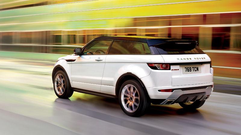Paříž 2010: Range Rover Evoque - nejmenší a nejsportovnější: - fotka 19