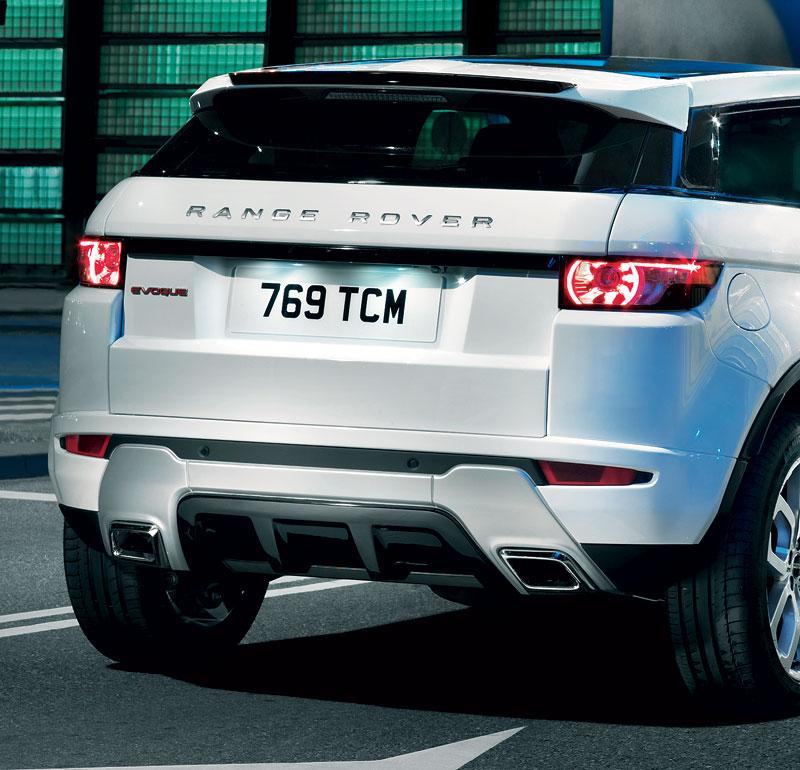 Paříž 2010: Range Rover Evoque - nejmenší a nejsportovnější: - fotka 20