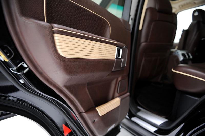 Range Rover Supercharged: atraktivnější vzhled od Startech: - fotka 6