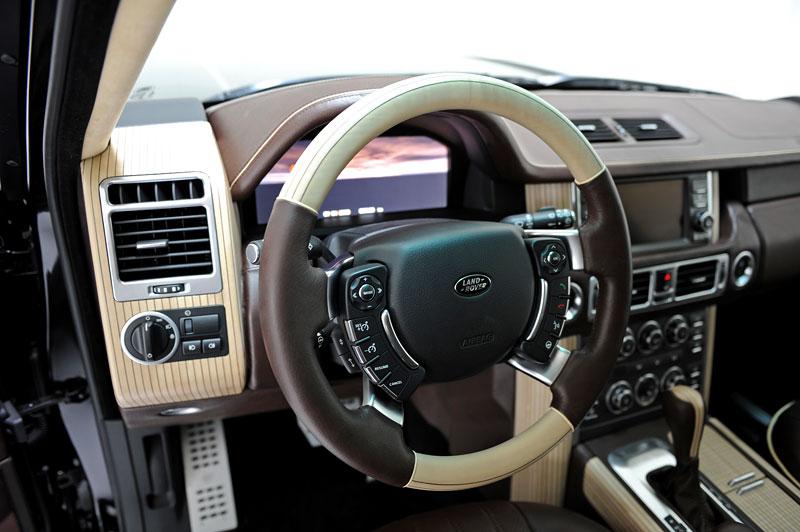 Range Rover Supercharged: atraktivnější vzhled od Startech: - fotka 7