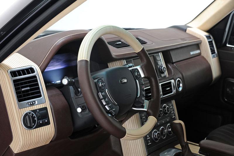 Range Rover Supercharged: atraktivnější vzhled od Startech: - fotka 8