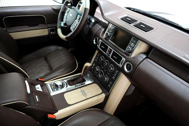 Range Rover Supercharged: atraktivnější vzhled od Startech: - fotka 11