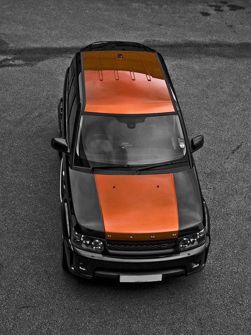 Project Khan Range Rover Sport Vesuvius Edition: - fotka 2