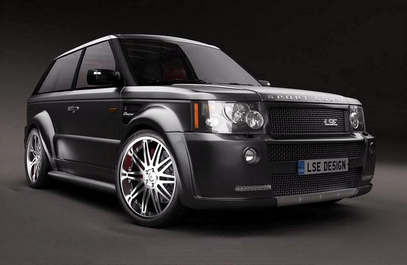 LSE Design Range Rover Sport Coupe: Jeden pár dveří stačí: - fotka 2