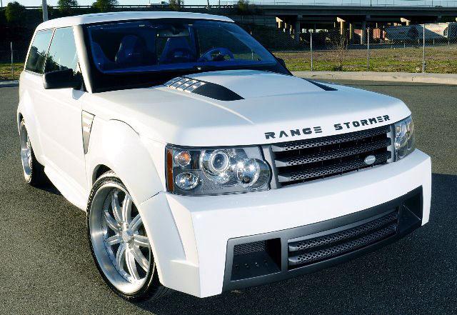 Range Rover Stormer Concept Replica - návrat ke kořenům: - fotka 1