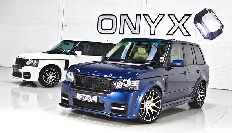 Onyx Concept uvádí modernizované pakety pro Range Rover: - fotka 2