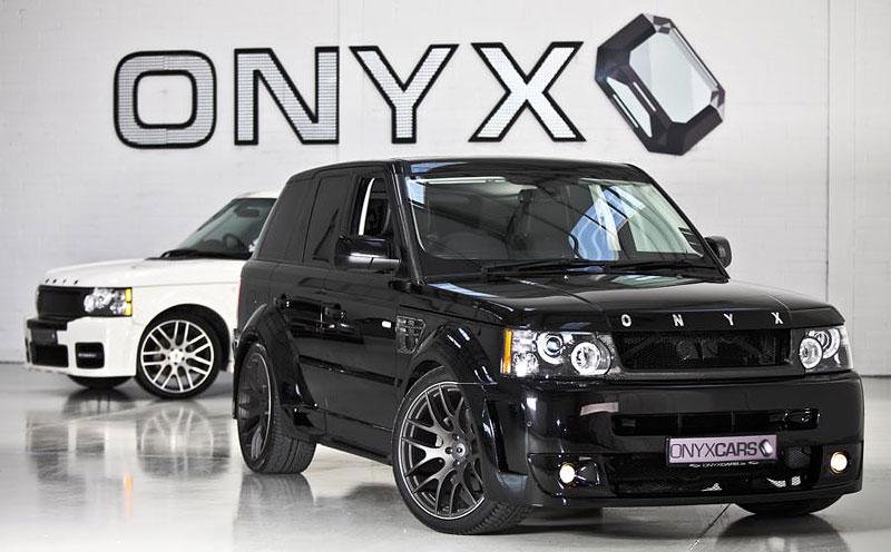 Onyx Concept uvádí modernizované pakety pro Range Rover: - fotka 3