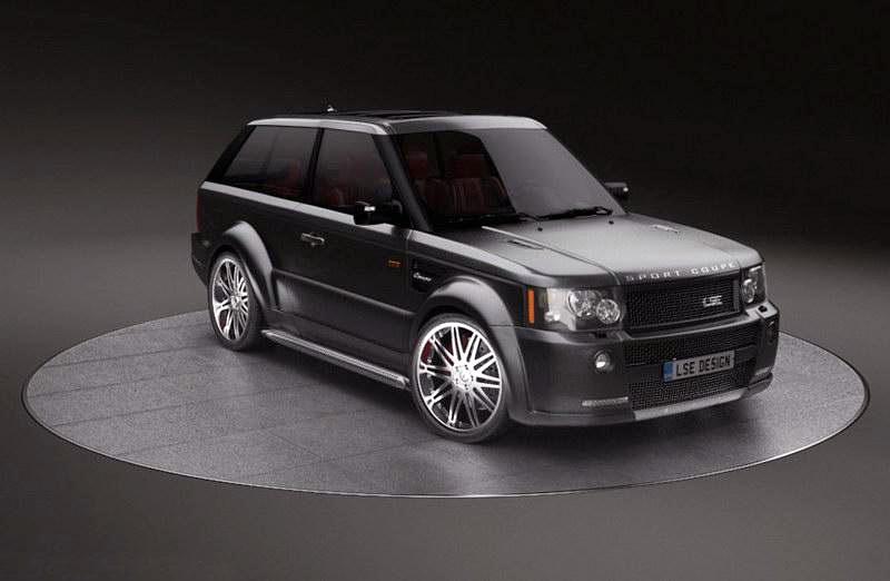 LSE Design Range Rover Sport Coupe: Jeden pár dveří stačí: - fotka 4