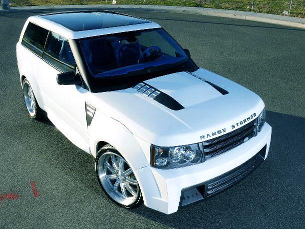 Range Rover Stormer Concept Replica - návrat ke kořenům: - fotka 2