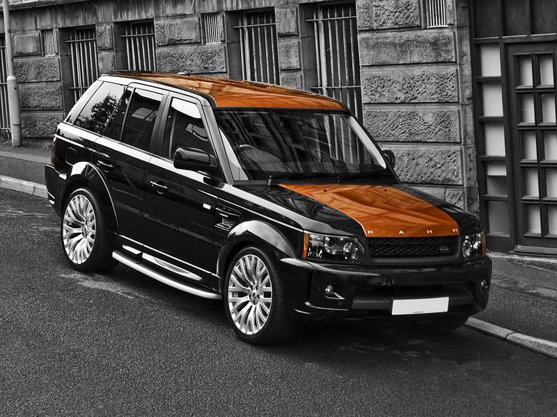 Project Khan Range Rover Sport Vesuvius Edition: - fotka 6