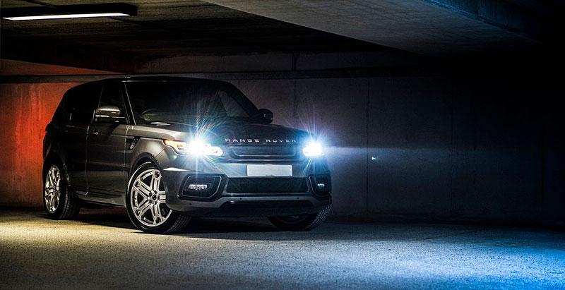 Range Rover Sport 400 LE A Kahn Design: RRS s větší porcí luxusu: - fotka 3