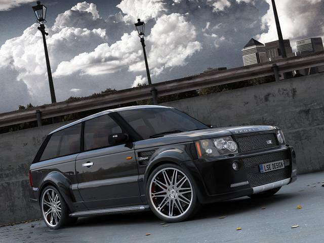 LSE Design Range Rover Sport Coupe: Jeden pár dveří stačí: - fotka 5