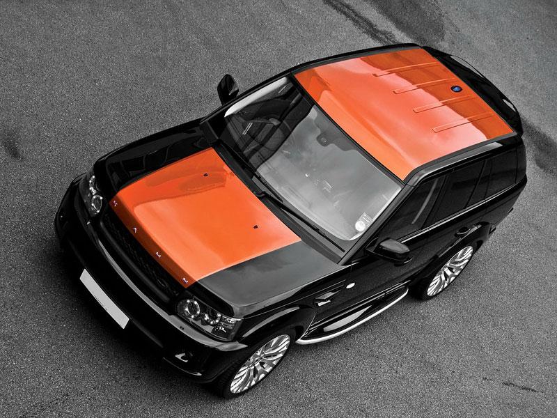 Project Khan Range Rover Sport Vesuvius Edition: - fotka 7