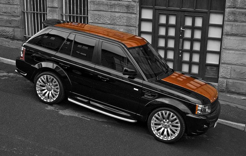 Project Khan Range Rover Sport Vesuvius Edition: - fotka 8