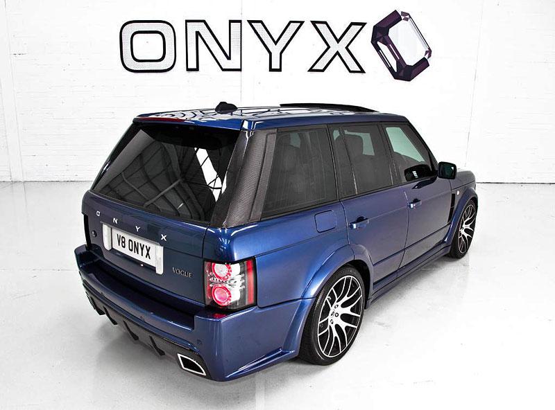 Onyx Concept uvádí modernizované pakety pro Range Rover: - fotka 4