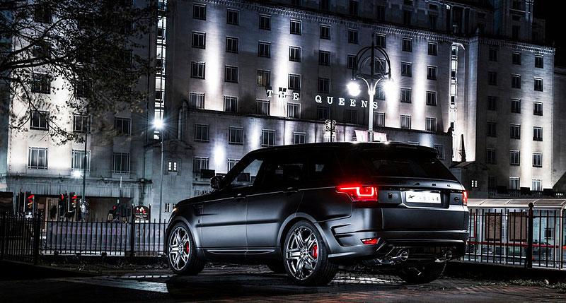 Range Rover Sport 400 LE A Kahn Design: RRS s větší porcí luxusu: - fotka 4